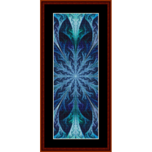 Fractal 451 Bookmark cross stitch pattern by Cross Stitch Collectibles | Crafting | Cross-Stitch | Other