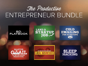 the productive entrepreneur freebie bundle