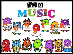 Be a MUSIC Monster | Other Files | Everything Else