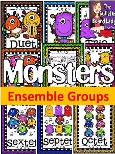 Monster Ensembles Display | Other Files | Everything Else