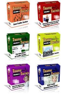 traffic ebooks - 750 traffic tactics (pdfs)