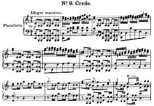 No.9 Credo: Choir SATB and Piano. Great Mass in C Minor K.427, W.A. Mozart. Vocal Score (Alois Schmitt) Ed. Breitkopf (1901). Latin. | eBooks | Sheet Music
