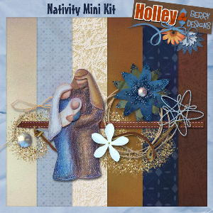 Nativity Mini Kit | Other Files | Scrapbooking