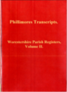 Worcstershire Parish Registers, Volume II. | eBooks | Reference
