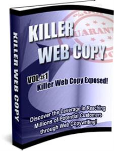 killer web copy - volumes 1, 2, & 3