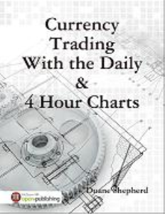 currency trading on the daily & 4 hour charts