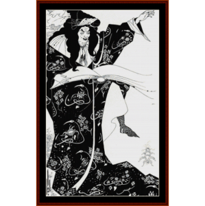Virgilus the Sorcerer - Beardsley cross stitch pattern by Cross Stitch Collectibles | Crafting | Cross-Stitch | Other
