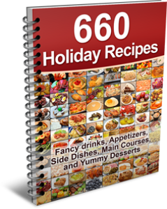660 Delicious Holiday Recipes | eBooks | Food and Cooking