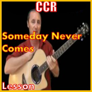 Learn to play Someday Never Comes by CCR | Movies and Videos | Educational