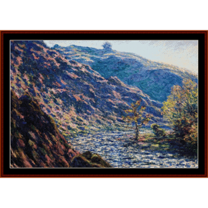 The Old Tree at the Confluence - Monet cross stitch pattern by Cross Stitch Collectibles | Crafting | Cross-Stitch | Wall Hangings