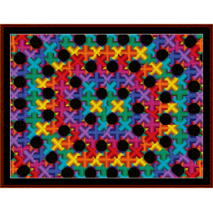 Fractal 455 cross stitch pattern by Cross Stitch Collectibles | Crafting | Cross-Stitch | Wall Hangings