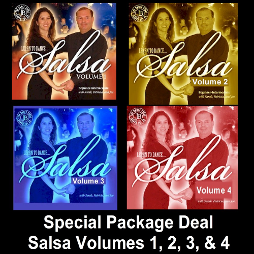 First Additional product image for - Package Deal, Salsa Volumes 1, 2, 3, & 4