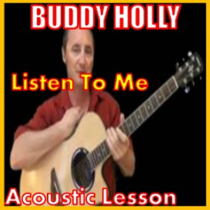 Learn to play Listen To Me by Buddy Holly | Movies and Videos | Educational