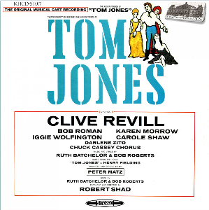 tom jones - the musical - original cast recording