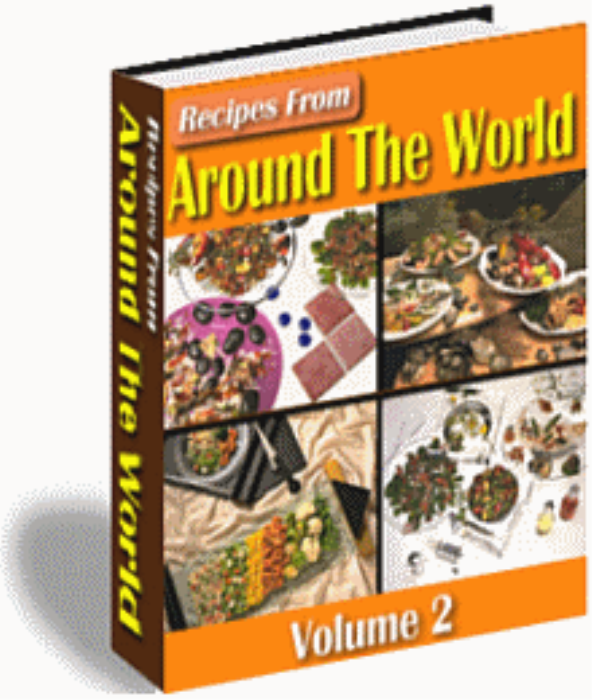 First Additional product image for - 1000 Recipes From Around The World (Vol 1 & 2)