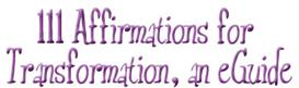 111 Affirmations for Transformation, an eGuide | Audio Books | Self-help