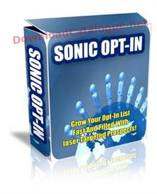 The Secrets To Growing Your Sonic Opt-In List Fast! | Software | Internet