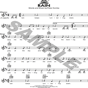 Peter Combe - Rain | Music | Children