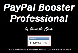 paypal booster & payza professional
