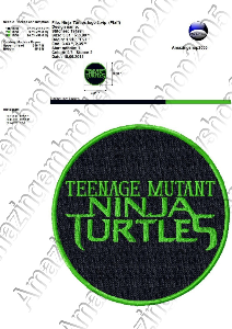 Ninja Turtles - Embroidery Design | Crafting | Sewing | Other
