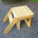 Goat Stand Wood Plans | eBooks | Home and Garden