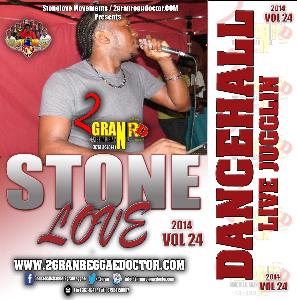 Stonelove Live Dancehall Vol.24.Cd All Star Check Thurs Olympic Way Kgn | Music | Reggae