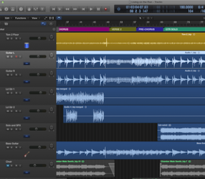 living on the run - logic pro x multi-track session