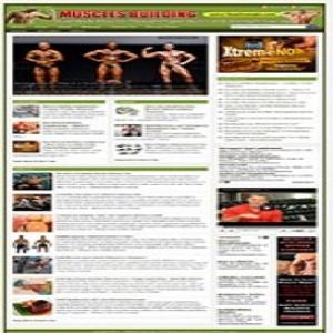 muscle building website
