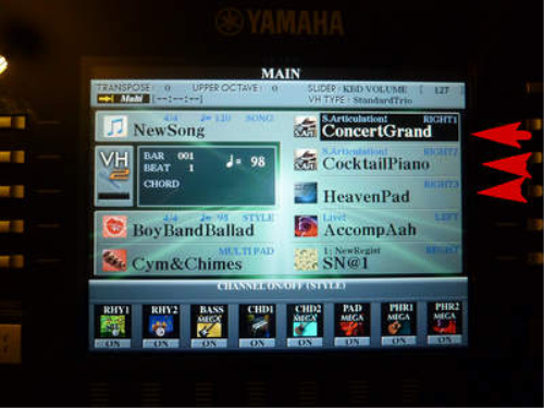 First Additional product image for - Styles Korg Convertis Yamaha Tyros & PSR/S