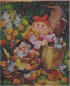 From forest | Crafting | Cross-Stitch | Other
