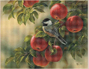 On an apple tree | Crafting | Cross-Stitch | Other
