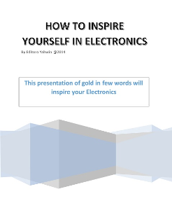 ebook-how to inspire yourself in electronics