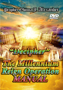 Decipher, The Millenium Reign Operation Manual. | Movies and Videos | Religion and Spirituality