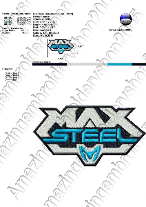 Max Steel - Embroidery Design | Crafting | Sewing | Other