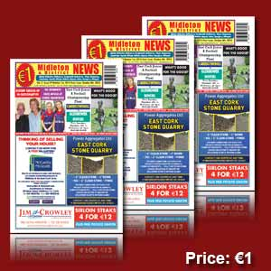 Midleton News October 1st 2014 | eBooks | Periodicals