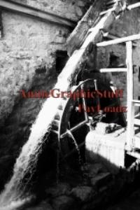 mountain watermill italian postcard