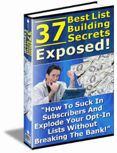 37 best list building secrets exposed - how to build a list