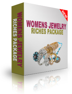 womens jewelry riches package. mrr, plr, rr