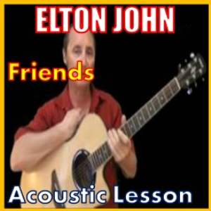learn to play friends by elton john