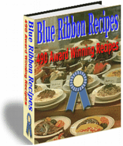 490 Blue Ribbon State Fair Recipes | eBooks | Food and Cooking