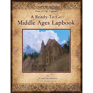 Print & Put Together:  A Ready-To-Go Middle Ages Lapbook | eBooks | Education