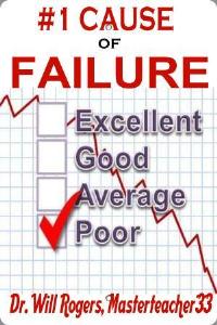 #1 Cause Of Spiritual Failure & Poor Performance   eBooks   Religion and Spirituality