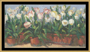 Tulips | Crafting | Cross-Stitch | Floral