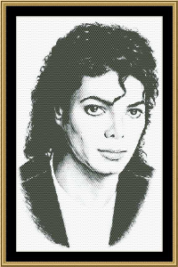 Michael | Crafting | Cross-Stitch | Wall Hangings