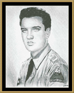 Elvis Presley - GI Elvis | Crafting | Cross-Stitch | Other