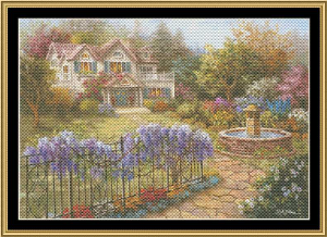 Spring Time Hideaway | Crafting | Cross-Stitch | Wall Hangings