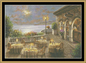 Romantic Dinning Invitation | Crafting | Cross-Stitch | Wall Hangings