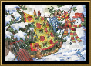 Winter Companions | Crafting | Cross-Stitch | Wall Hangings