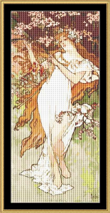 Spring | Crafting | Cross-Stitch | Wall Hangings