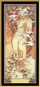 Winter II | Crafting | Cross-Stitch | Wall Hangings